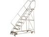 "GILLIS ""MULTI - DIRECTIONAL"" ROLLING STEEL LADDERS"